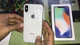 Apple I phone x new version with face i.d  in cash on delivery