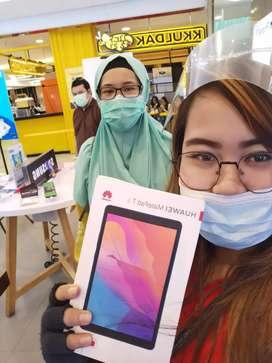 Huawei Matepad T8 gratis flip cover di Erafone Ruko Ceger