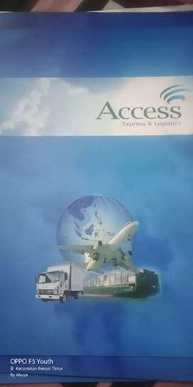 Di cari Sales excecutif Perusahaan Jasa pengiriman Access Logistik