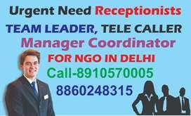 Bulk hiring Office Staff Caller Team Leader All Staff in Burari delhi