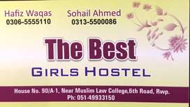 Need a cook for girls hostel