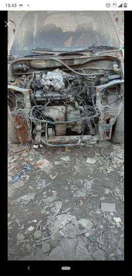 We are buying old scrap car