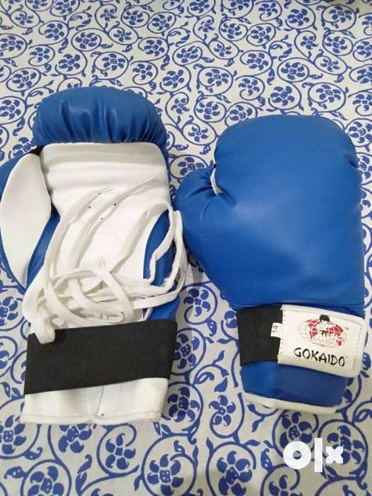 A pair of punching gloves. Price negotiable. 0