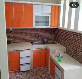 Model L kitchen Set Cantik