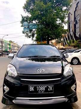 Toyota Agya 1.0 TRD A/T Hitam 2016 ODO RENDAH