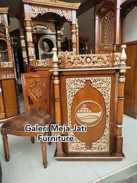 Mimbar masjid feed ukir J365 kode