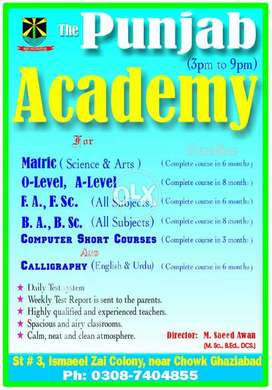 Academy for Home Tuition