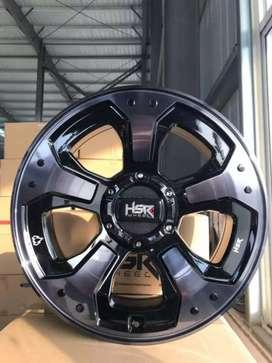 Jual velg racing HSR Ring 18 Untuk mobil Fortuner, Pajero,Hilux,Triton