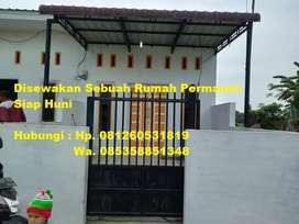 Disewakan 1 Unit Rumah Permanen Siap Huni, Pertahun, Muslim