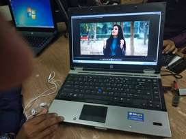 Hp elitebook laptop core i5 1 yr replacement warrañty 4gb 320 gb