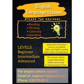English online tuition