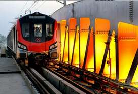 Vacancies Lucknow metro train.