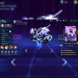 Akun Mobile Legend Mumer epic limited uranus