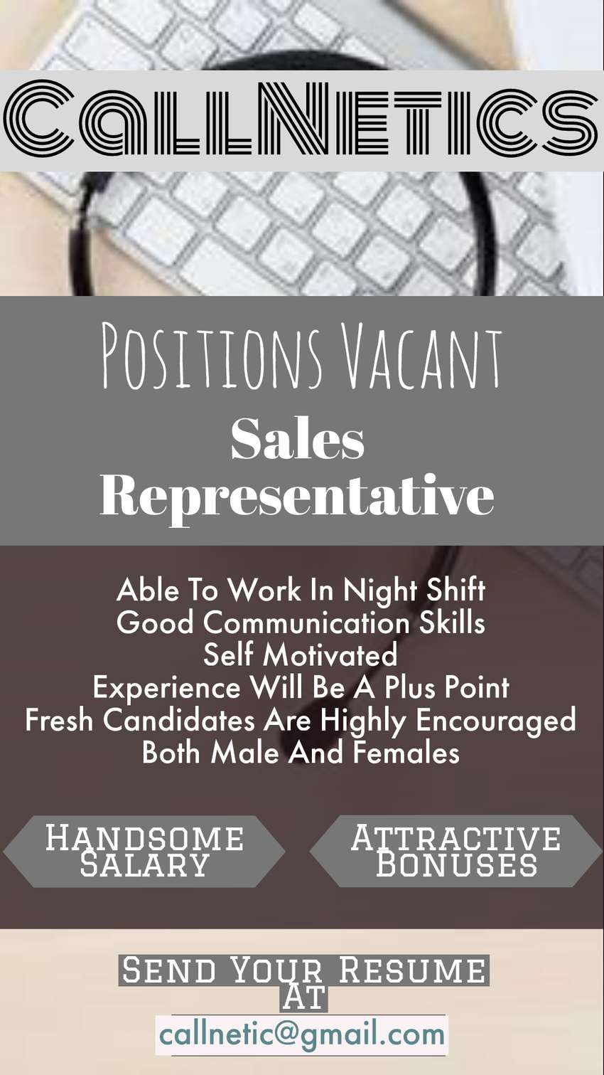 Call Center Operator Required 0