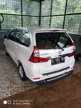Toyota new avanza 2017 super mulus low km