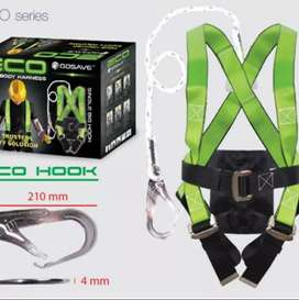 Safety boddy harness eco single