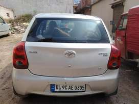 Sell Etios leva Good condition cng fited DL number