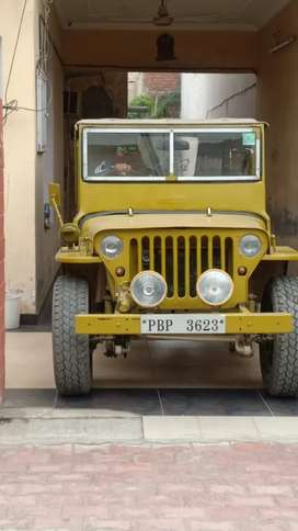 Mahindra Jeep 1990 Diesel 6200 Km Driven