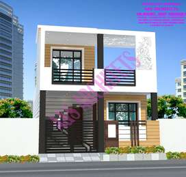 Affordable row house in the city of lucknow