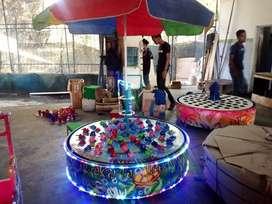 ERV usaha mainan kereta panggung kincir komedi safari