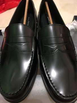 Sepatu Rockport Classic Loafer Penny Leather