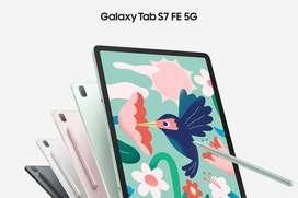 Samsung Tab S7 Fe 5G terbaru