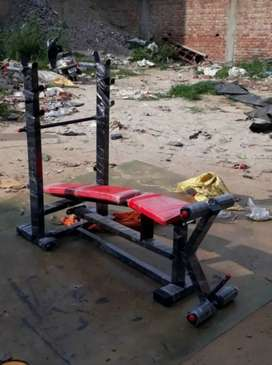 Super Heavy Gym Bench Brand New In Just 6500