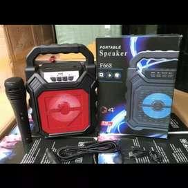 Speaker aktif Bluetooth Karaoke 4inch Super Bass