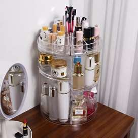 360 Rotating Makeup Organizer Cosmetic Display Holder Stand