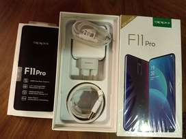OPPO F 11 pro smart phone with complete box