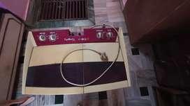 Whirlpool 7.2kg Washing Machine - Red/Cream - Good Condition