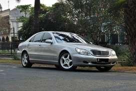 mercedez-benz S280 matic 2.8cc 2002, silver metalik