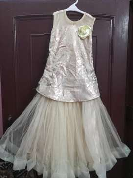 Beautiful gown for girls