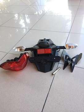 Spakbor dan lampu ninja 250 fi
