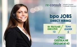 DIRECT Hiring Dynamic Senior Tele-Sales Executives - 10