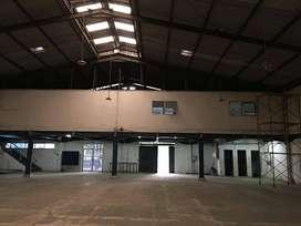 Disewakan Bangunan Pabrik Beserta Kantor Kondisi Rapi Siap Pakai