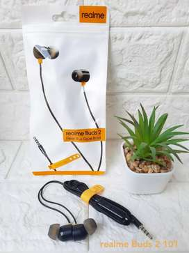 Earphone Realme Buds Karet Real Power Of Bass
