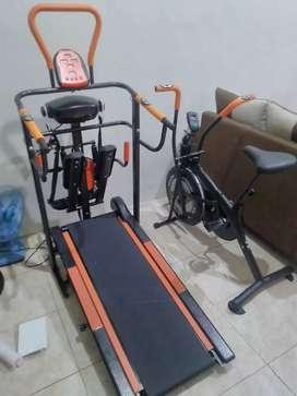 Treadmill manual 7 fungsi magetan