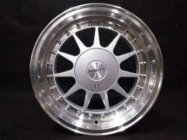 IKIMASU 1032 HSR R15X78 H8X100-114,3 ET3025 silver polish