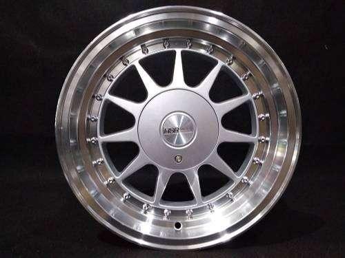IKIMASU 1032 HSR R15X78 H8X100-114,3 ET3025 silver polish 0