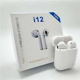 i12 True Wireless Stereo 5.0 ( Bluetooth Earbuds With Touch Sensor )
