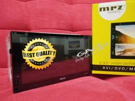 Double Din MP4 MirrorLink Head Unit Mobil MRZ RZ-6915 full glass panel