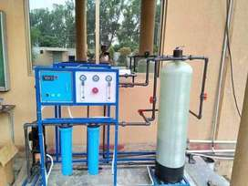 RO water Filteration Plant 250 liter per Hour