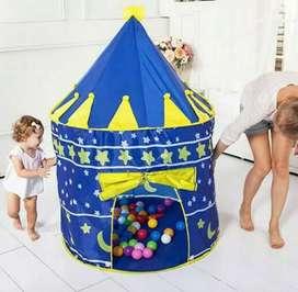 Tenda castle. Tenda camping. Anak. Taman & outdoor/indoor