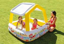 "Intex 57470 (size:62""/62""/48"") sun shade baby swimming pools."
