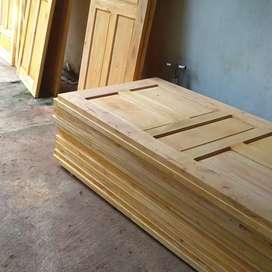 Pintu kusen kayu baru murah dan bagus awet