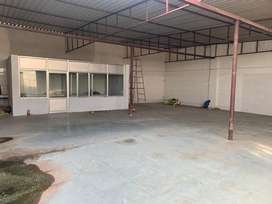 Godown, warehouse, factory with office for rent