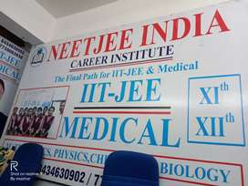 Required chemistry and physics  for XI ,XII coaching centre Lalpur  .
