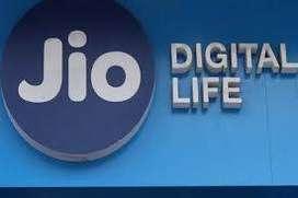 Welcome to telecom company Reliance jio.  Duty city according. Apply o