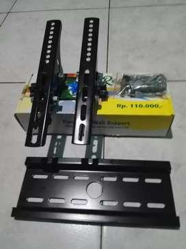 Bracket cantelan tv LED yang aman dan kokoh